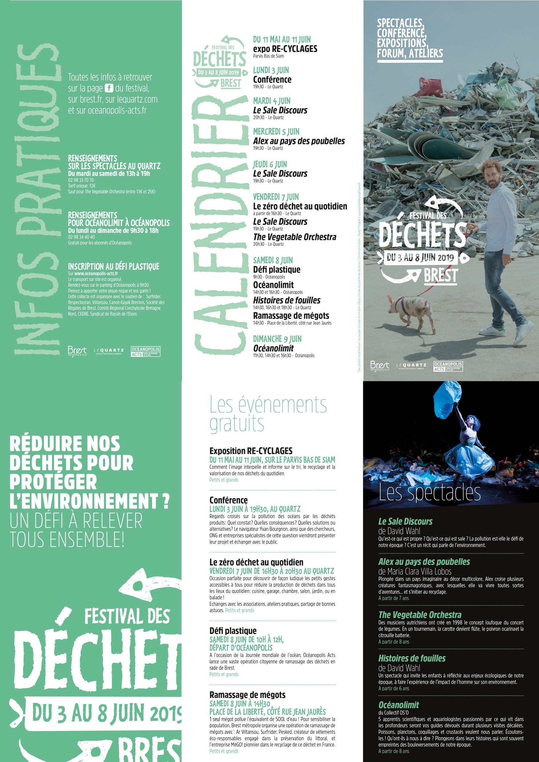 Calendrier Festival.Festival Des Dechets Le Quartz Scene Nationale De Brest